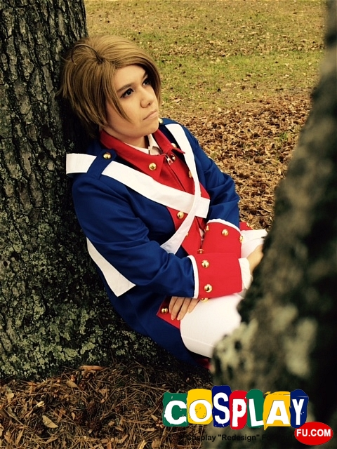 Alfred F Jones (America) Cosplay from Axis Powers Hetalia by Galvan