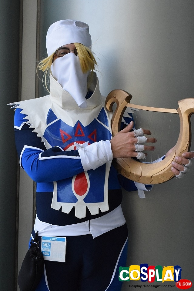 Sheik Cosplay from The Legend of Zelda by J