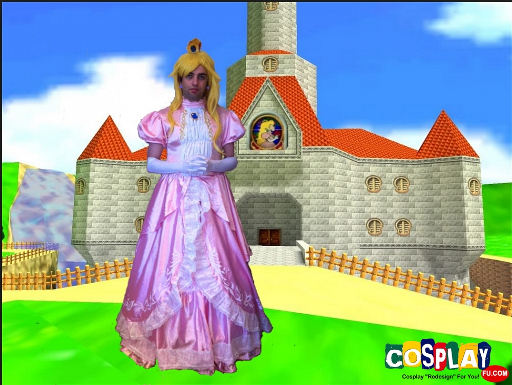 Princess Peach Cosplay from Super Mario by Jean