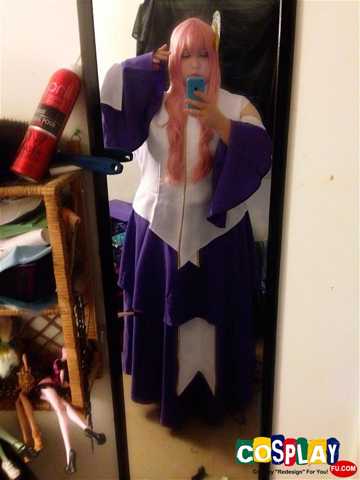 Lacus Clyne Cosplay from Gundam Seed by Leeolie