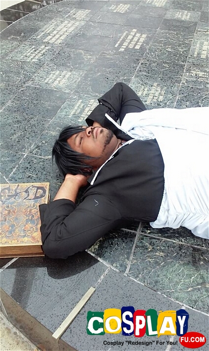 Zeref Cosplay from Fairy Tail by quevie