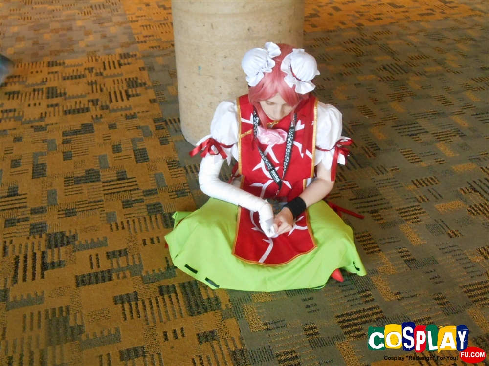 Kasen Ibaraki Cosplay from Touhou Project by Earl