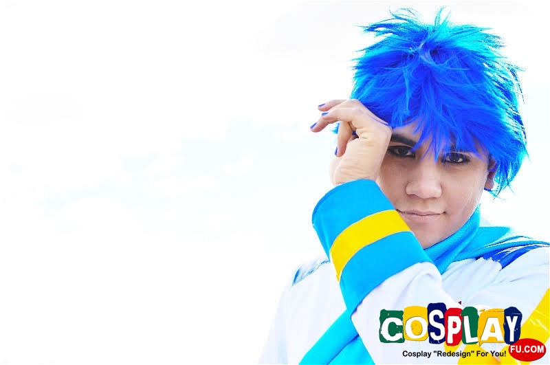 Kaito Cosplay from Vocaloid by Ruben