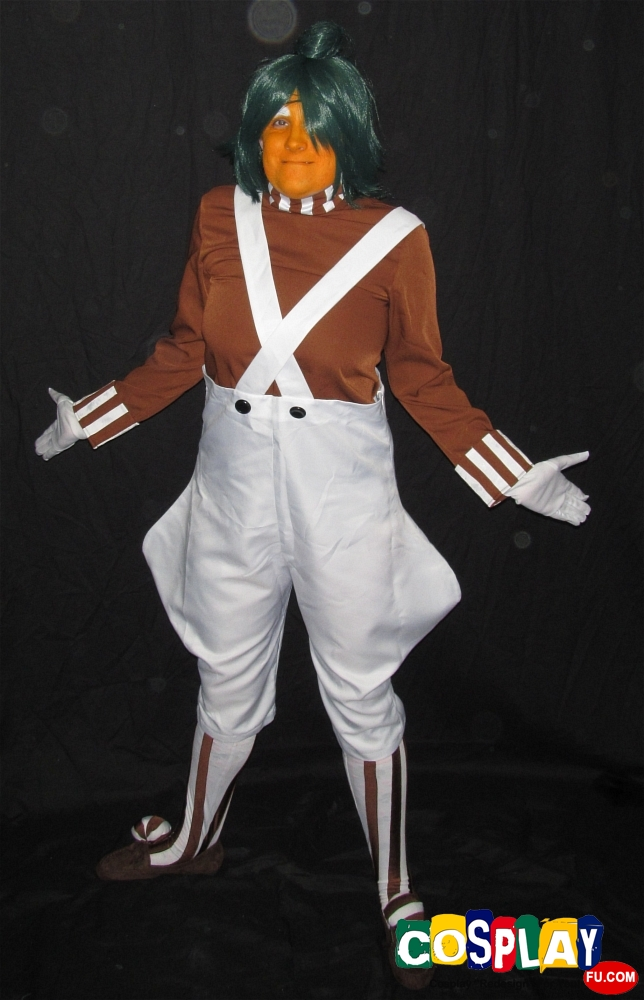 Oompa Loompa Cosplay from Willy Wonka and the Chocolate Factory by Keri