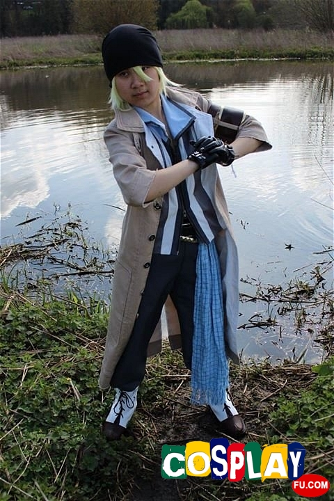 Snow Villiers Cosplay from Final Fantasy XIII by Christine