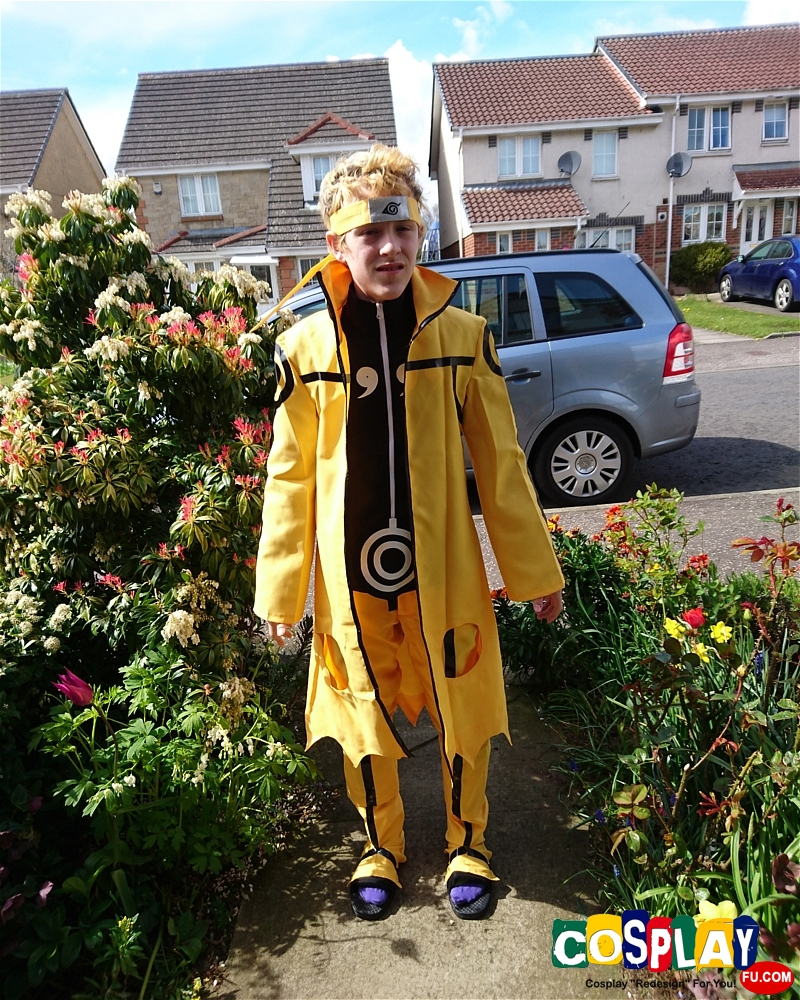 Naruto Uzumaki Cosplay from Naruto by Alvin