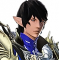 Aymeric wig from Final Fantasy XIV