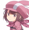 Karen Kohiruimaki Perücke von Sword Art Online: Alternative Gun Gale Online