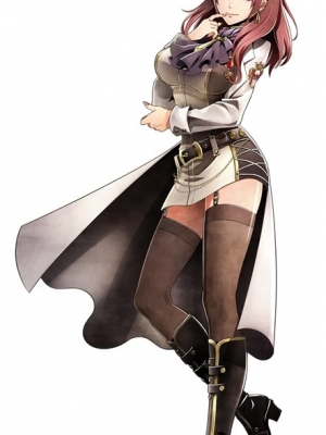 Dr. Leah Claudius wig from God Eater 2