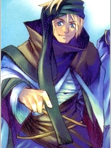 Malik Bendict (Wild Arms Advanced 3rd Anthology Comic)