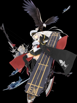 Enterprise peluca de Azur Lane