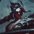 Kayn the Shadow Reaper parrucca Da League of Legends