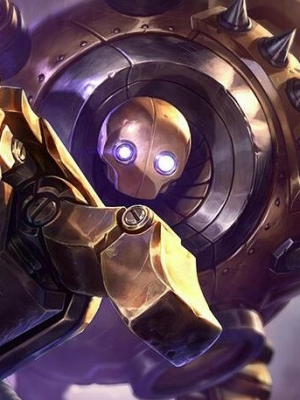 Blitzcrank the Great Steam Golem