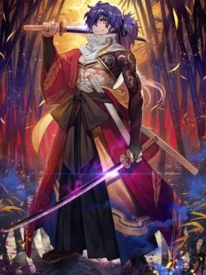 Okada Izo wig from Fate Grand Order