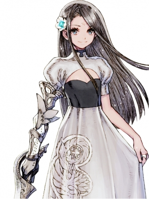 Sarah peluca de Final Fantasy