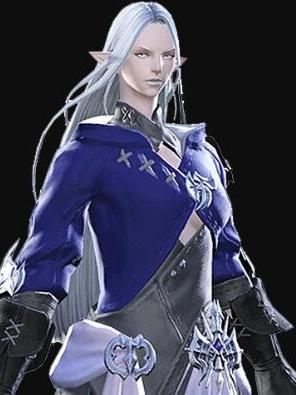 Ysayle Dangoulain wig from Final Fantasy XIV