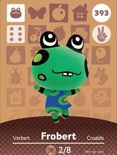 Frobert(Animal Crossing)