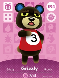Grizzly(Animal Crossing)