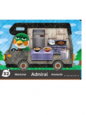 Admiral (Animal Crossing)