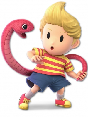 Lucas peluca de Mother 3