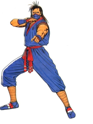 Eiji Kisaragi (Art of Fighting 2)