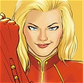 Captain Marvel wig from Marvel Ultimate Alliance