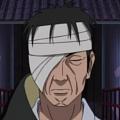 Danzo Shimura wig from Naruto Shippuden