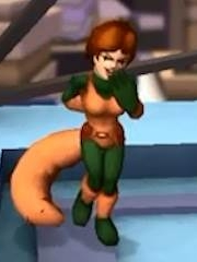 Squirrel Girl peluca de Marvel Super Hero Squad Online