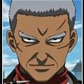 Jirochou Doromizu peluca de Gintama